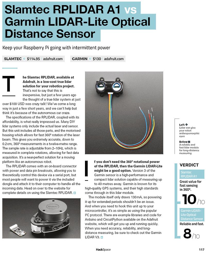Sensors available at Adafruit.com