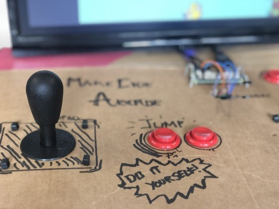 Cardboard Control Panel
