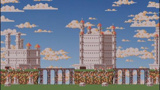 2D castle generator