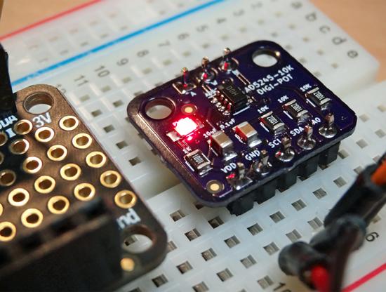 AD5245 Digital Potentiometer Breakout
