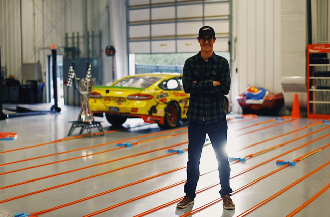 NASCAR champ breaks world record for longest Hot Wheels track Roadshow