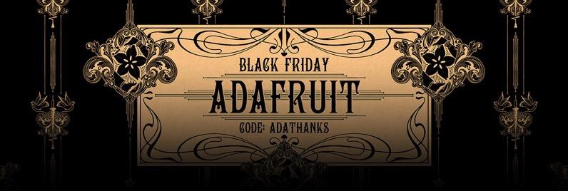 Adafruit black friday 2019 blog