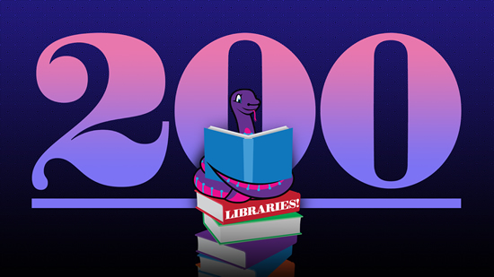 200 CircuitPython Libraries