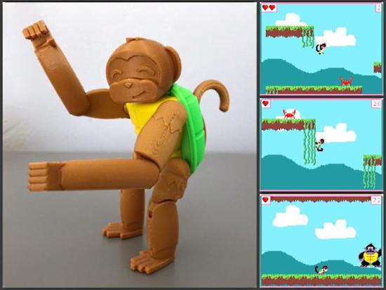 Turtle Monkey 3D