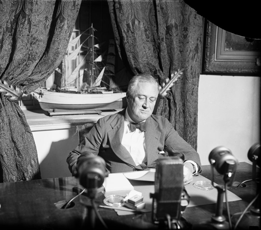 A Look Back At FDR's Fireside Chats