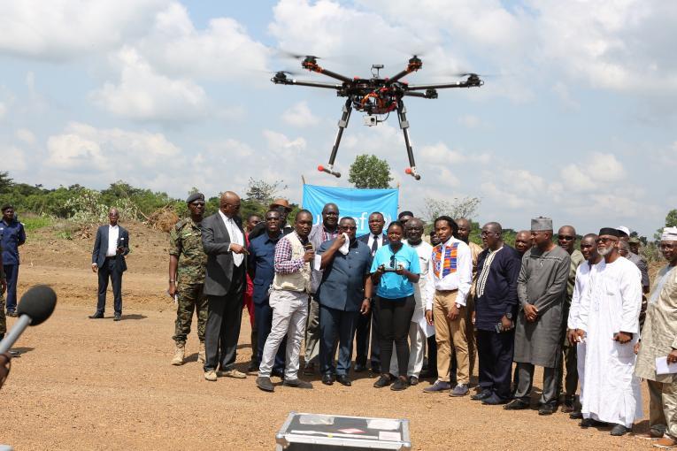 UNICEF Sierra Leone Drone Corridor Launch Issa Davies 2019  44