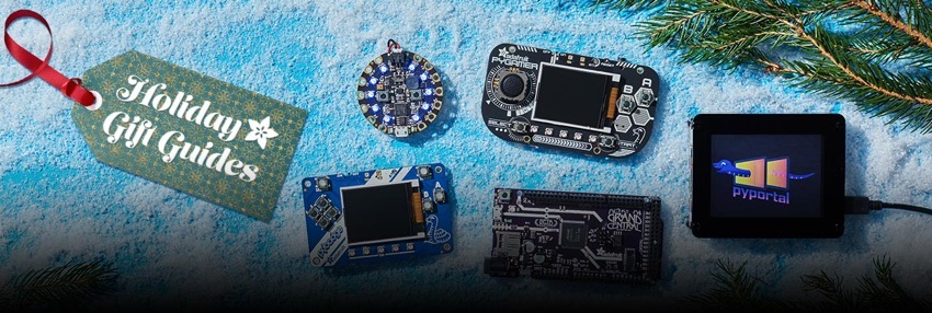 Adafruit holiday gift guides blog 2019