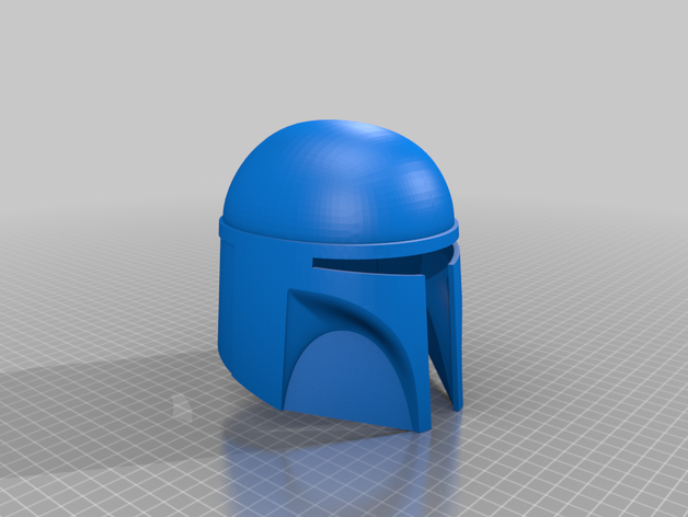 Featured preview Mandalorian Helmet Base stl
