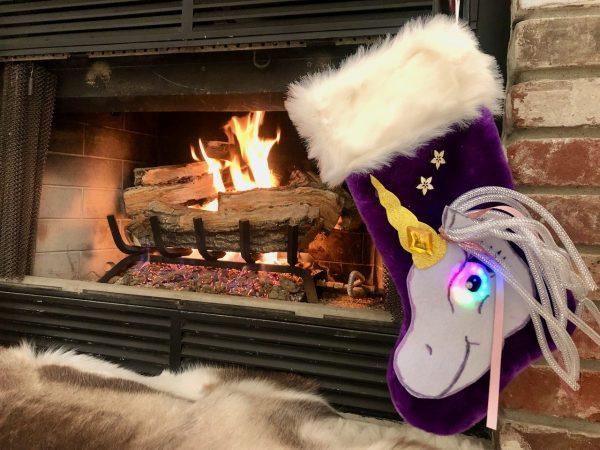 Unicorn Stocking DIY