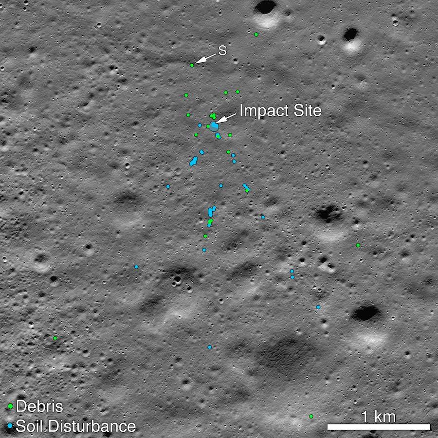 Amateur Sleuth Helps Locate Crash Site of India's Vikram Moon Lander #SpaceSaturday