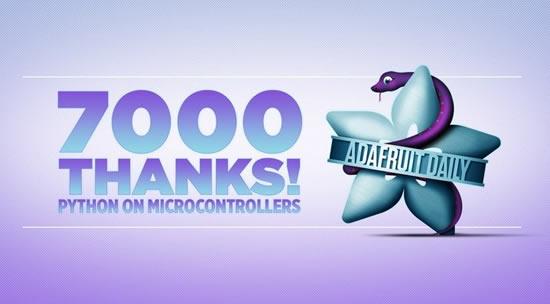 7000 thanks