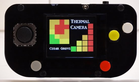 CircuitPython Thermal Camera