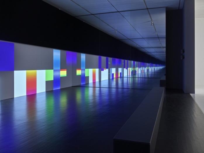 Carsten Nicolai Parallax Symmetry Installationsansichten K21 Kunstsammlung Nordrhein Westfalen Foto Achim Kukulies 4