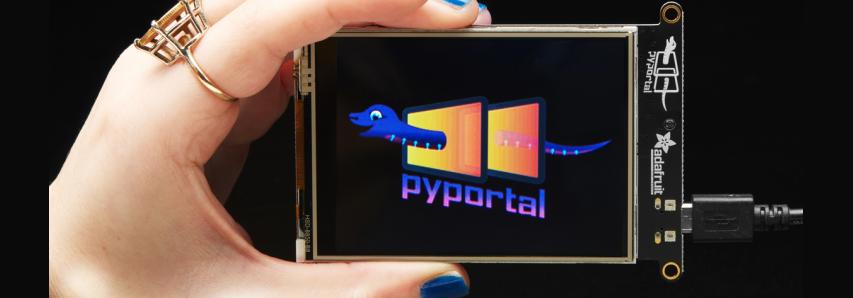 Adafruit PyPortal IoT Display