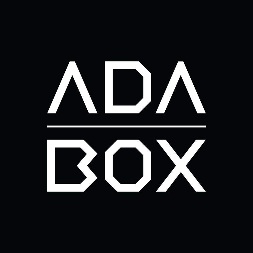 Adabox logo black