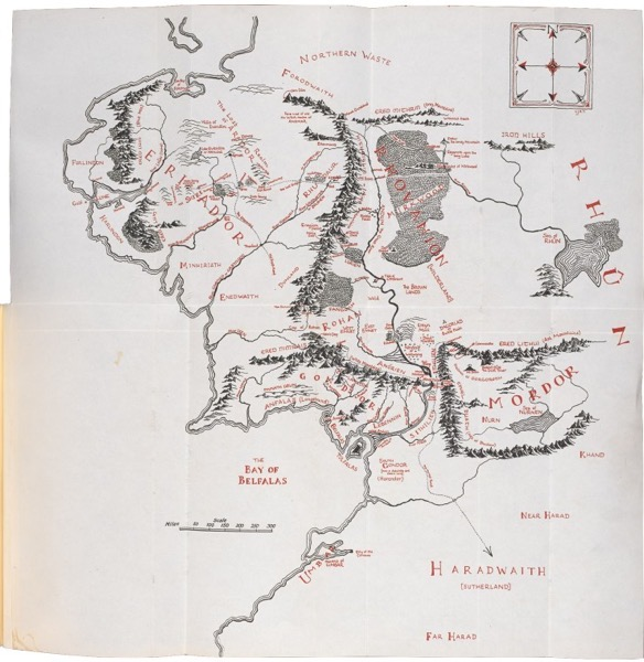 Middle earth 1954