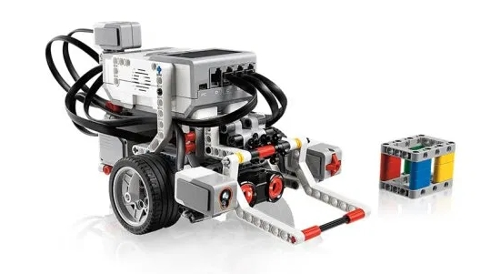 One Color Sensor LEGO EV3 Line Follower