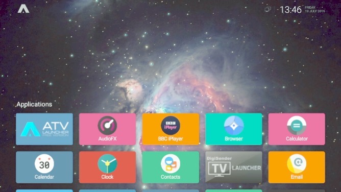 Muo diy raspberrypi androidtv launcher