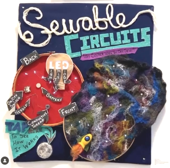 Sewable Circuits