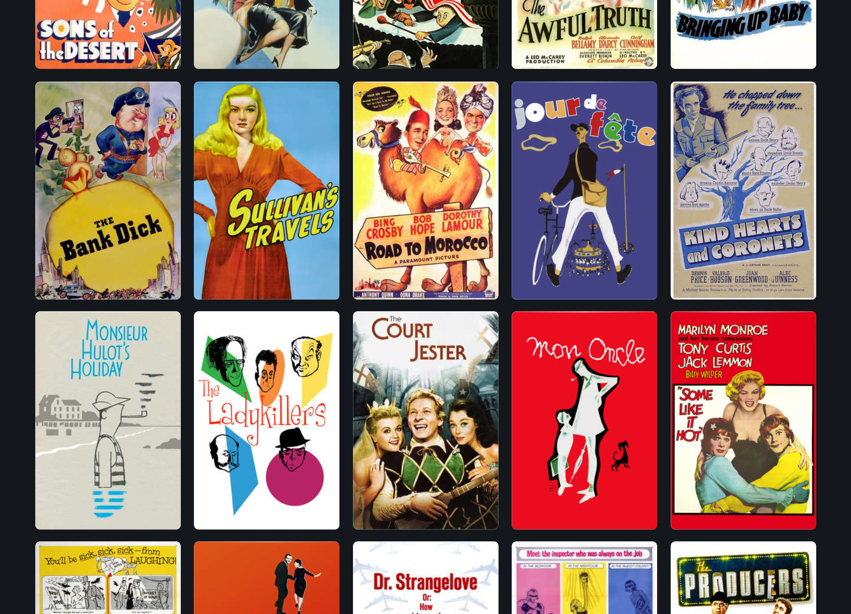 Edgar Wright s 100 Favorite Comedies a list of films by Letterboxd Letterboxd