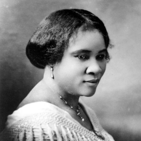 Madam c j walker the first female self made millionaire in news photo 1583287311