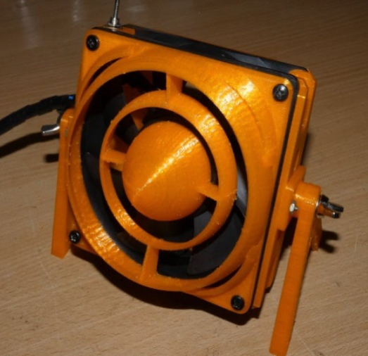 Mega Fume Extractor blower by sparus Thingiverse