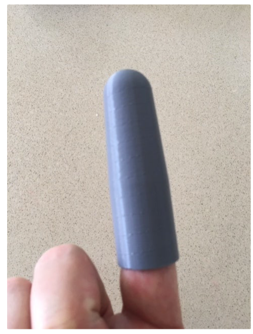 One Finger Glove by Abstractcurve Thingiverse