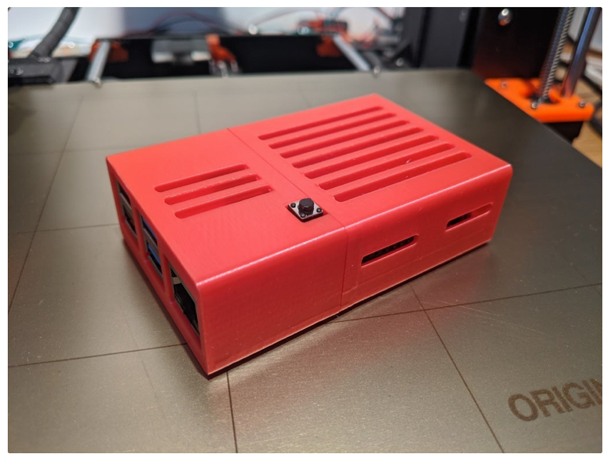 Raspberry PI 4 Sleeve case with vents by jasminl Thingiverse