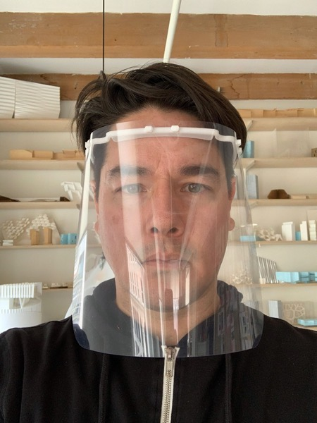 Eric howeler american architects coronavirus face shields hospital workers dezeen 2364 col 1 1704x2272