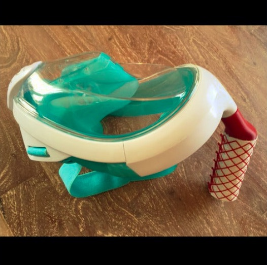 Easy Breath Face Mask anti Corona Filter Adapter by Blixinator Thingiverse