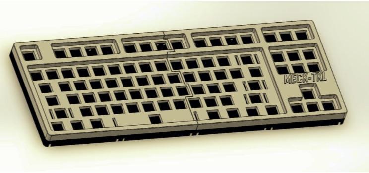 Mechanical Keyboard MECH TKL by RobotDoctor Thingiverse