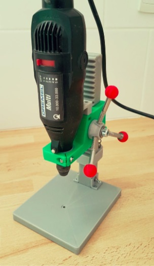 Perceuse a colonne dremel drill press by kapy27 Thingiverse