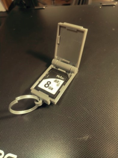 Sdcard keyholder remix by cypariss1 Thingiverse