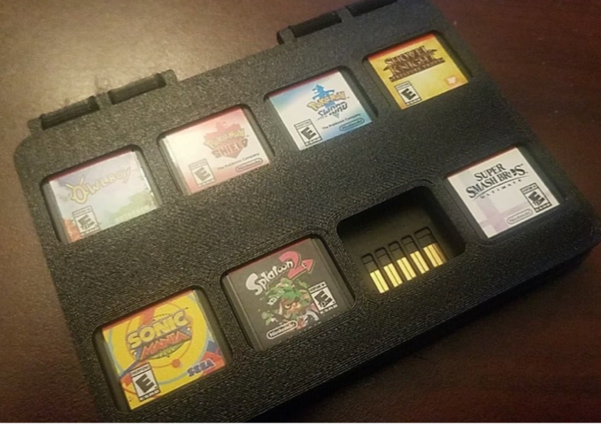 Switch Cart cases by dirtydawg1987 Thingiverse