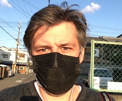 Debonair Mask Man