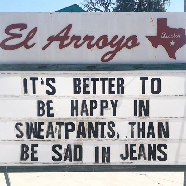 Funny restaurant signs el arroyo texas designboom 005