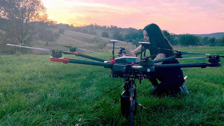 01 this startup is using drones to plant tens of thousands