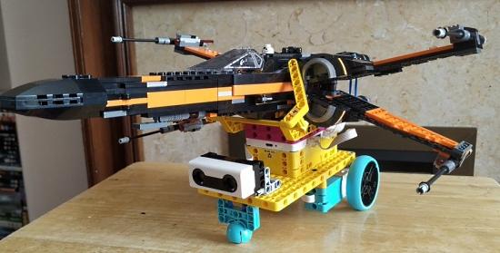 Lego SPIKE Prime X-Wing bigl.es