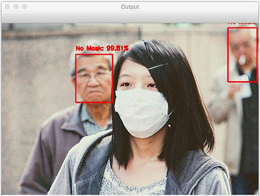 Face Mask Detector with OpenCV