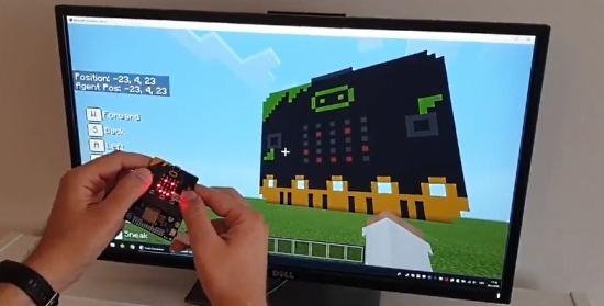 Minecraft micro:bit