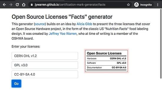 Certification Mark Generator