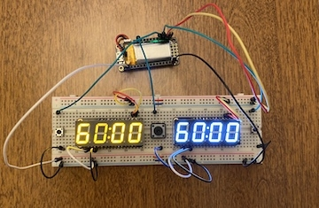 CircuitPython Chess Clock