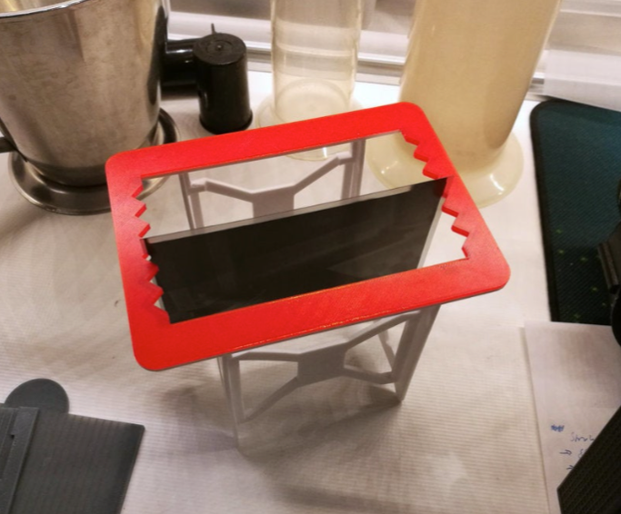 9x12 mask for 4x5 dry rack by Spotmatic Thingiverse