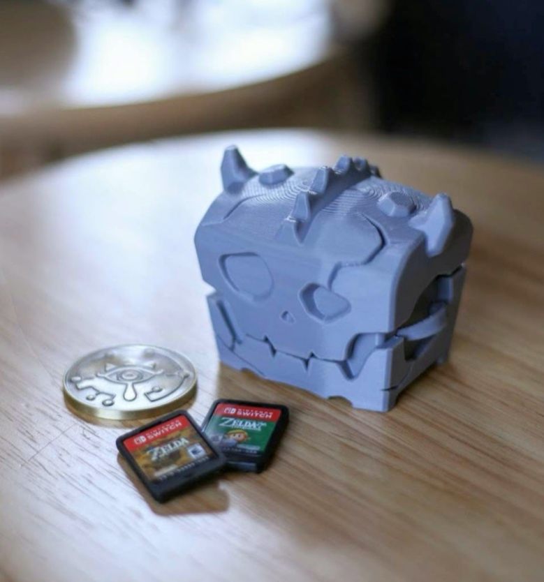Bokoblin Chest Cartridge Holder by aardimus Thingiverse
