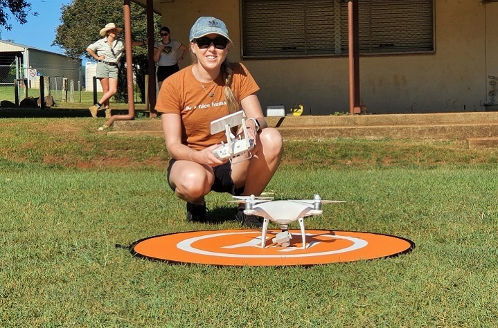 Cropped Grace Russell Drone Training Alstonville