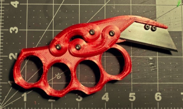 Knuckle Cutter by MaladjustedMutant Thingiverse