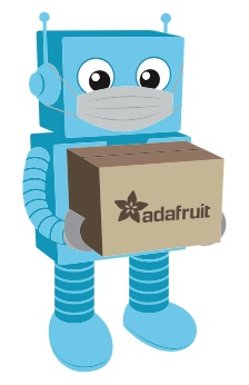 Adafruit is open, safely ... and shipping