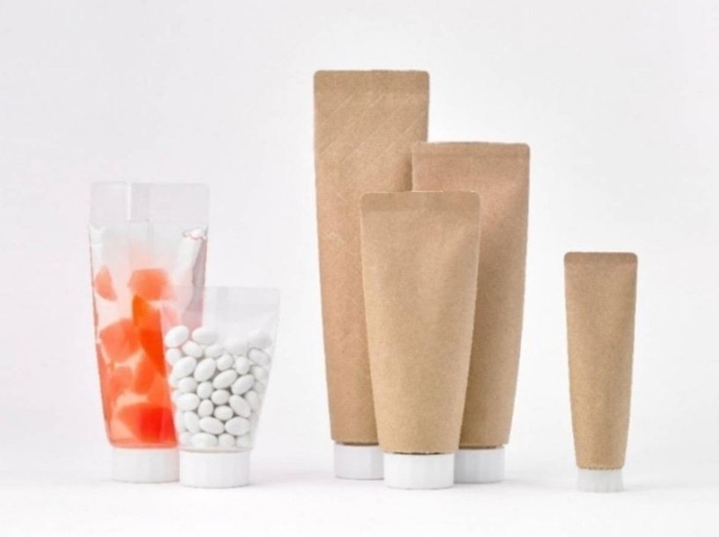 Toppan paper toothpaste pouch reduce plastic waste designboom 1