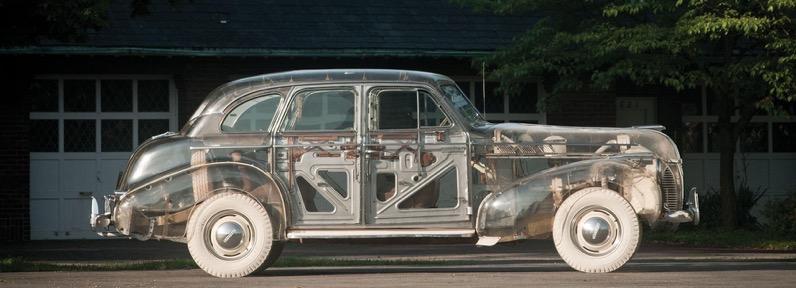 1939 pontiac plexiglas deluxe six ghost car designboom 1800