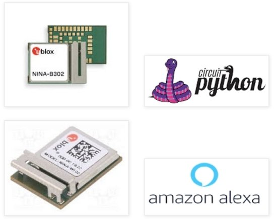 Micropython on U-BLOX NINA W102 - ALEXA